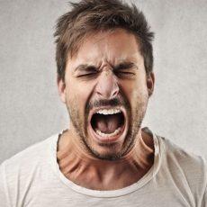 Aries cuando está enfadado
